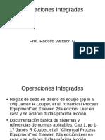 Operaciones Integradas 2017 I Clase Practica