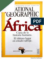 Nat Geo Septiembre 2005 África. Cuna Civilización.