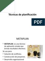 Técnicas de Planificación