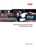 FAG Mounting and Dismounting of Rolling Bearings