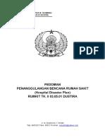 PEDOMAN PENANGGULANGAN BENCANA RUMAH SAKIT.doc