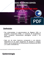 Vasculitis Relacionadas Con ANCA