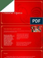 drama chinese opera presentation