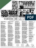 """Lira Popular """"Versos de la Laguna"""" N°1"""