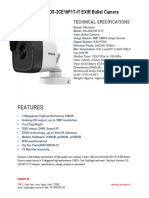 Hikvision DS-2CE16F1T-IT EXIR Bullet Camera
