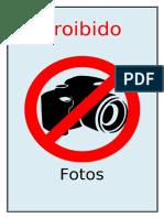 Proibido Tirar Fotos
