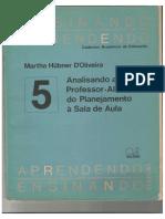 Hübner (1987) - Analisando a Relação Professor Aluno Do Planejamento à Sala de Aula