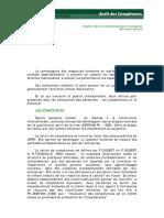 Audit_competences Cours DESS