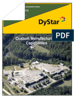 Custom Manufacturing Brochure