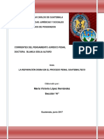 Reparación Digna  en el proceso penal guatemalteco.