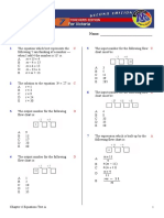 Chap06 Test a Equations