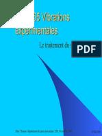 Vibrations Experimentales_ Traitement Du Signale