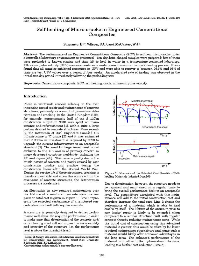 Ced Self Healing Of Micro Cracks Concrete Stress Mechanics Cube Hopper Mk2 Wiring Diagram