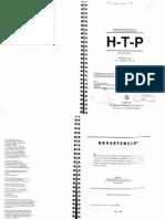Técnicas Proyectivas HTP MANUAL