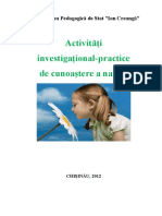 Ginju, Stela - Aplicatii Investigational-practice de Cunoastere a Naturii