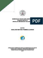 B1b Analisis Materi Pembelajaran 310317