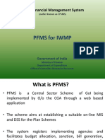 PFMS for IMWP- An Overview