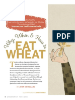 Why When and How to Eat Wheat
