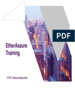 EtherAssure NetComplete Training - Session 3a - Admin - Y.1731-Twamp Configuration