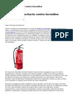 empresas sistemas contra incendios