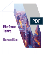 EtherAssure NetComplete Training - Session 3d - Admin - Users and Roles