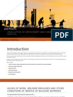 The Building and Other Construction Workers' Act and Rules