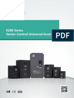 Simphoenix E280 Vector Control__ Universal Inverter Series Catalogue