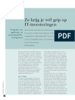 Koppelen van Applicatie- en Projectportfolio Management (Informatie 2013)