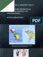Antiacademicismo en latinoamérica
