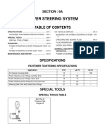 Power Steering System 6a-13