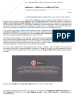 Script Per Invitare a Disattivare AdBlock e AdBlock Plus