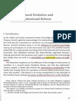 Buchanan (1986) - Cultural Evolution and Institutional Reform