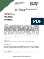 Arab Attitudes to Mental Health in t Persian Gulf