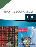 1. What is Economics - 2010