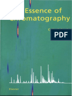 The Essence of Chromatography Poole Else Vier 2003