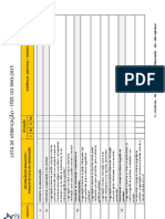 Lista de Verificação NBR ISO 9001-2015
