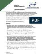 Awareness Guidance 1 Personal Information v2
