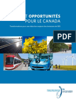 Projet Trottier Pour Avenir Energetique_Transformation Pour Une Reduction Des Mission GES_Report