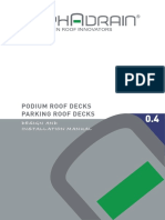 Podium Roof Decks and Parking Roof Decks
