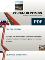Presentacion de Pruebas de Presion