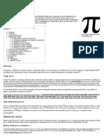 Pi – Wikipédia, A Enciclopédia Livre