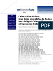Celect Plus fallos[1].doc
