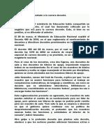 Analisis decreto 490