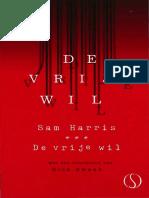 Sam Harris  - De Vrije Wil