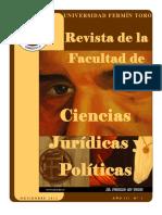 Revista Juridica Fermin Toro