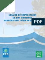Guia Interpretacion Playas 2017