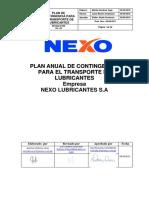 Nx-sig-o-006 Plan de Contingencia Para El Transporte de Lubricantes v5(1)