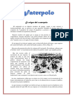 El Origen Del Waterpolo