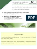 Tema 3. Contaminantes Atmosfericos II