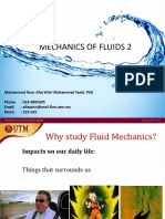 Lecture 1 Introduction to Fluid Mechanics 2